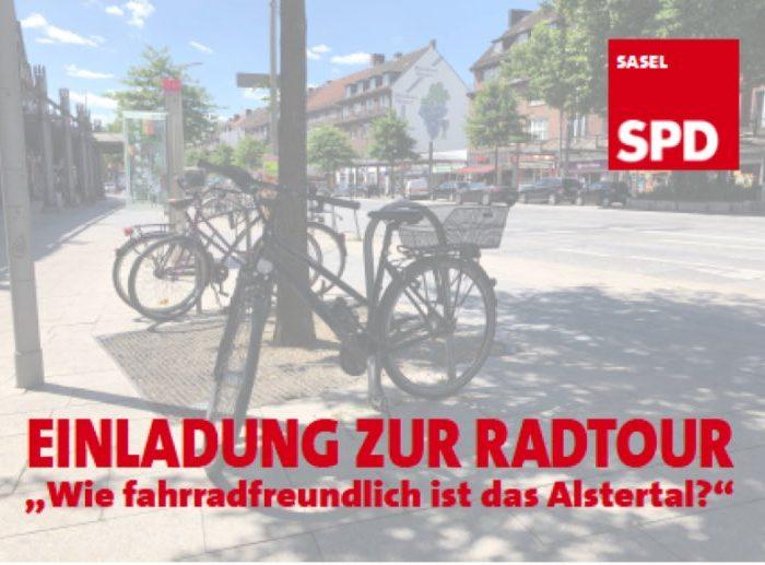 Politische Fahrradtour Sasel
