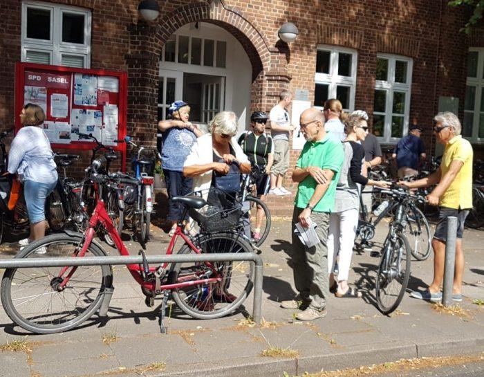 Fahrrad Sternfahrt