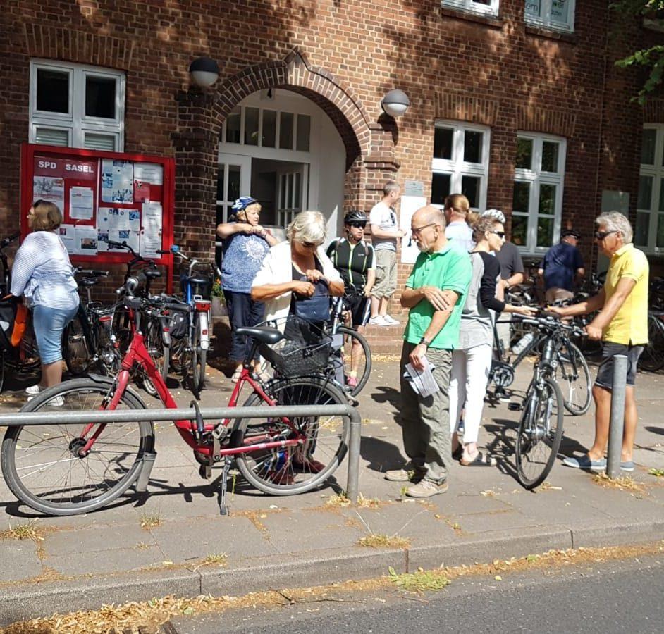 Politische Fahrradtour