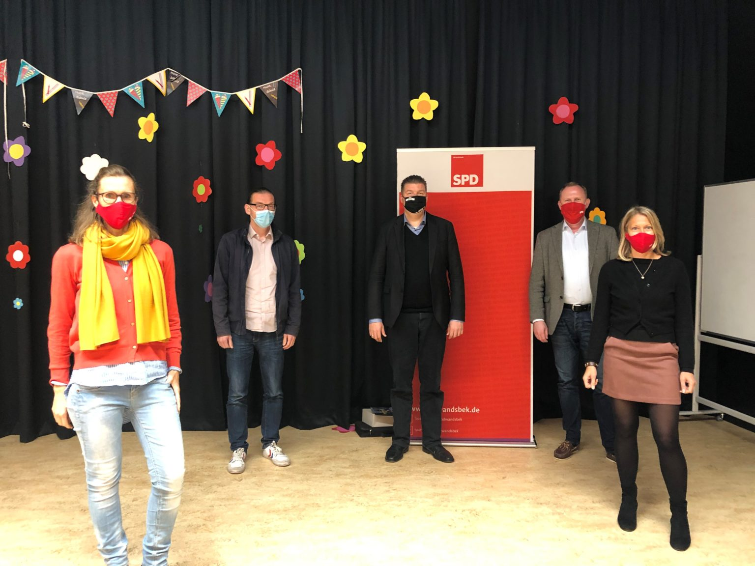 NEUER SPD KREISVORSTAND WANDSBEK